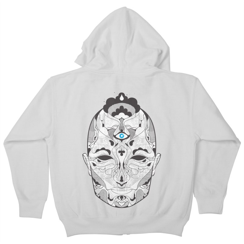 King Kids Zip-Up Hoody by deliciousdesignleague's Artist Shop