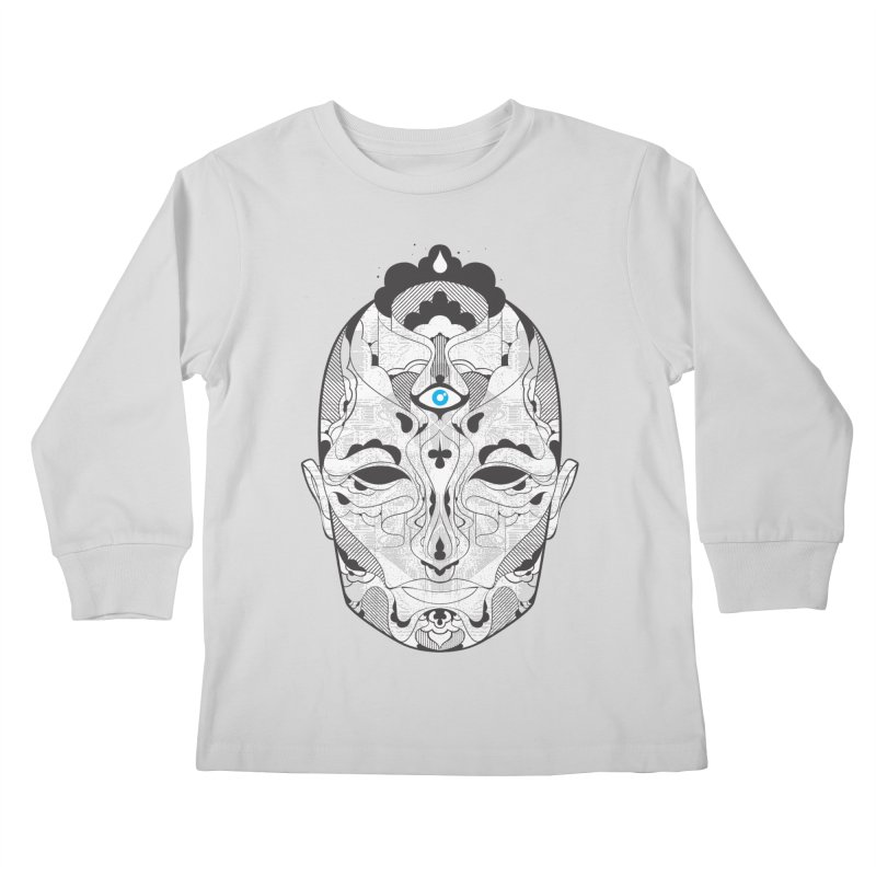 King Kids Longsleeve T-Shirt by Delicious Design Studio