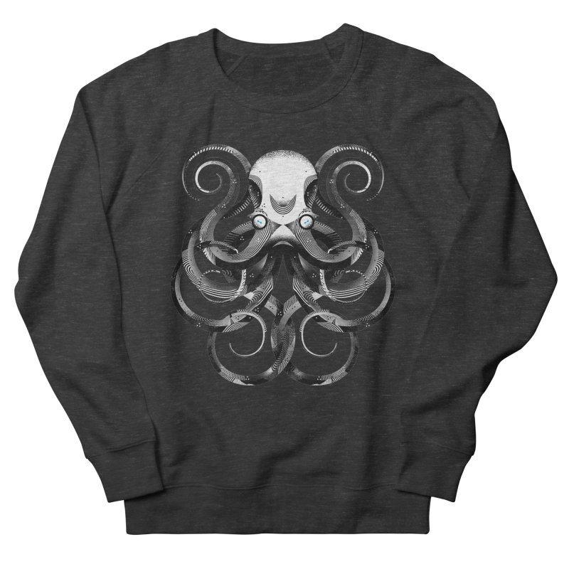 Octopus! Women's French Terry Sweatshirt by deliciousdesignleague's Artist Shop