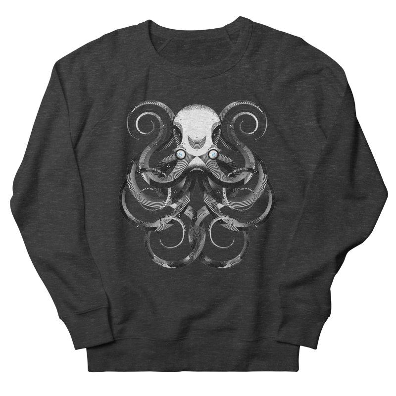 Octopus! Women's French Terry Sweatshirt by Delicious Design Studio