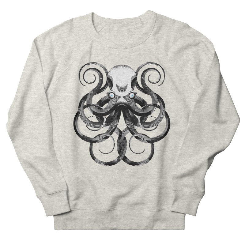 Octopus! Women's French Terry Sweatshirt by Delicious Design Studio