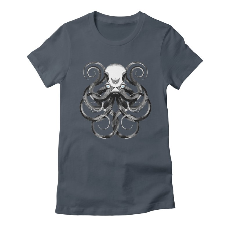 Octopus! Women's Fitted T-Shirt by deliciousdesignleague's Artist Shop