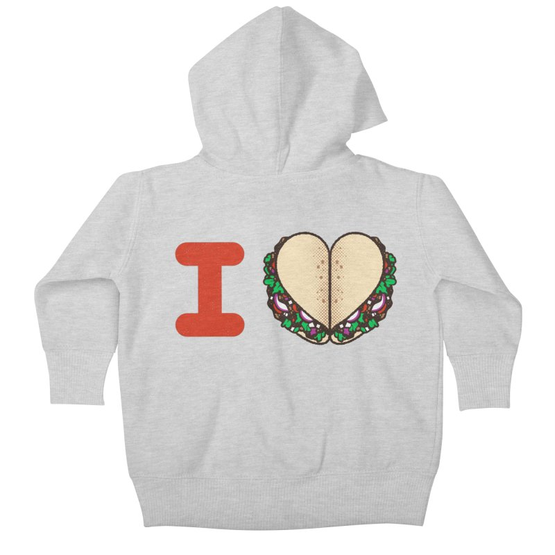 I Heart Tacos Kids  by deliciousdesignleague's Artist Shop