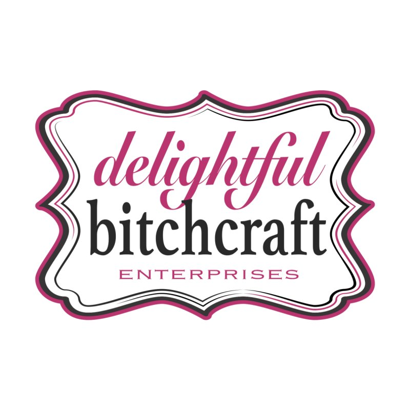 Delightful Bitchcraft Logo Accessories Face Mask by Delightful Bitchcraft Merch Marketplace