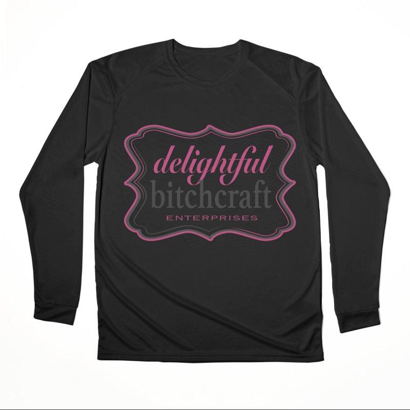 Delightful Bitchcraft Logo Men's Longsleeve T-Shirt by Delightful Bitchcraft Merch Marketplace