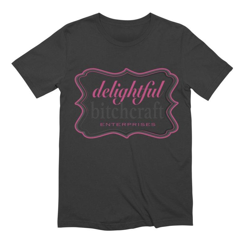 Delightful Bitchcraft Logo Men's T-Shirt by Delightful Bitchcraft Merch Marketplace