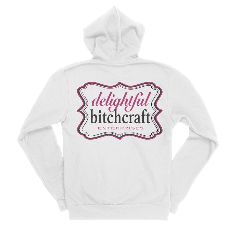 Delightful Bitchcraft Logo Men's Zip-Up Hoody by Delightful Bitchcraft Merch Marketplace