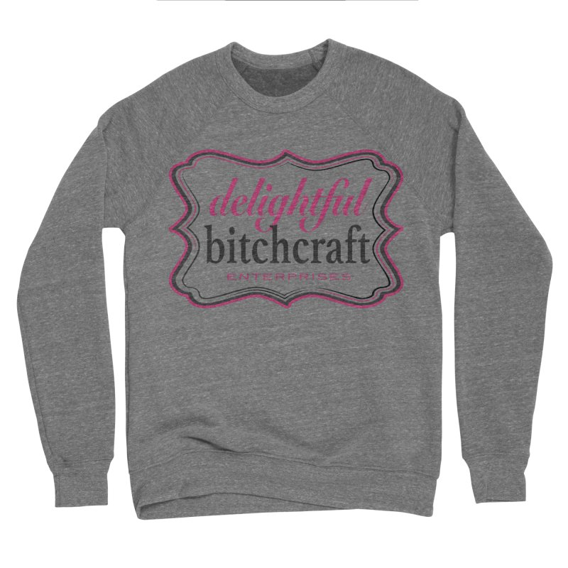 Delightful Bitchcraft Logo Men's Sweatshirt by Delightful Bitchcraft Merch Marketplace
