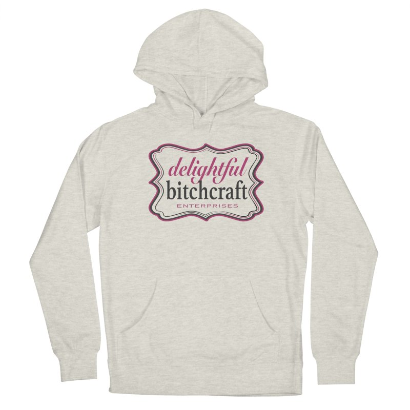 Delightful Bitchcraft Logo Men's Pullover Hoody by Delightful Bitchcraft Merch Marketplace