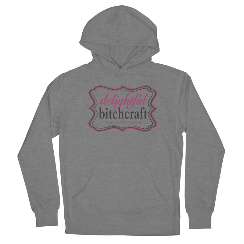 Delightful Bitchcraft Logo Women's Pullover Hoody by Delightful Bitchcraft Merch Marketplace