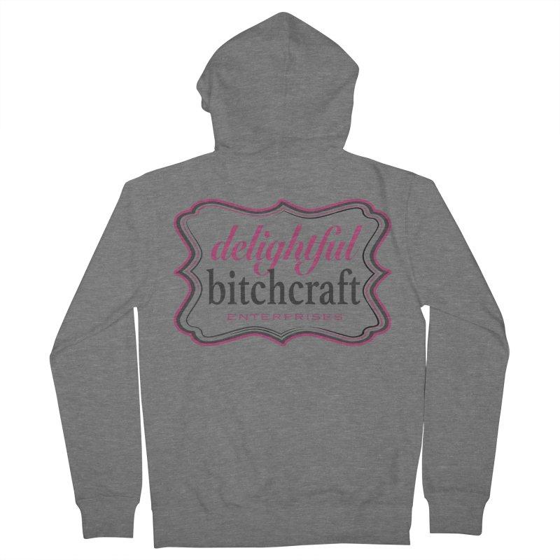 Delightful Bitchcraft Logo Women's Zip-Up Hoody by Delightful Bitchcraft Merch Marketplace