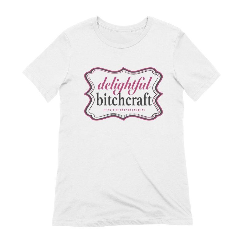 Delightful Bitchcraft Logo Women's T-Shirt by Delightful Bitchcraft Merch Marketplace