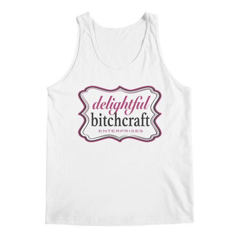 Delightful Bitchcraft Logo Men's Tank by Delightful Bitchcraft Merch Marketplace