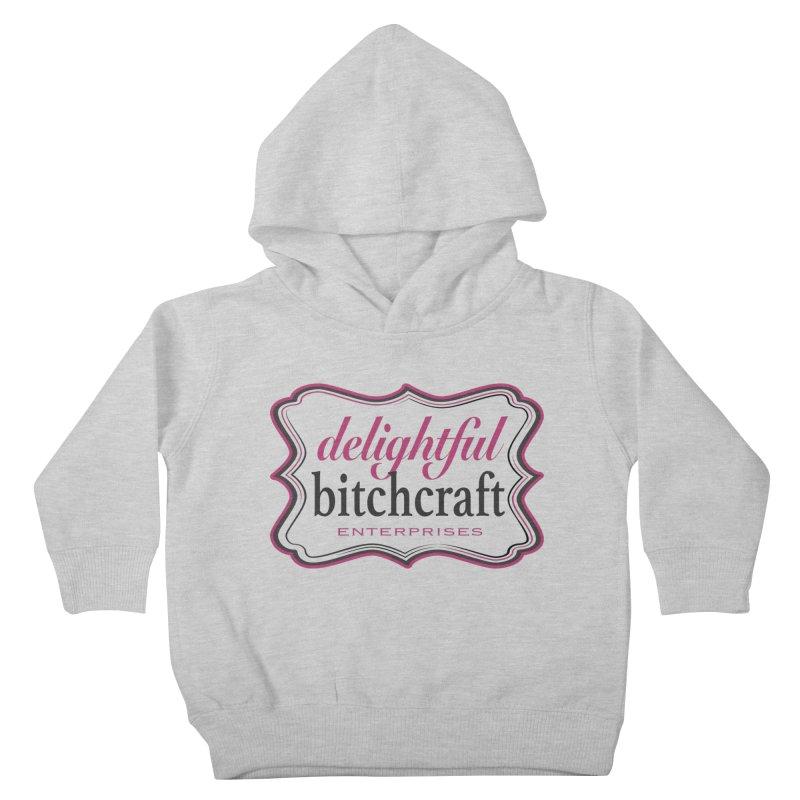 Delightful Bitchcraft Logo Kids Toddler Pullover Hoody by Delightful Bitchcraft Merch Marketplace