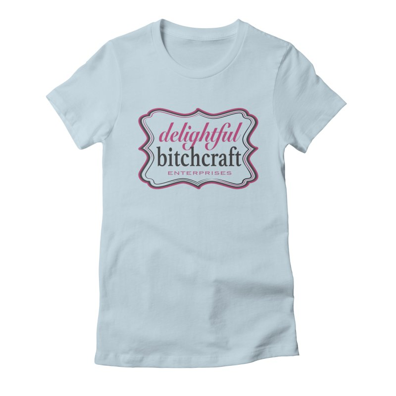 Delightful Bitchcraft Logo Women's T-Shirt by Delightful Bitchcraft Merch Marketplace