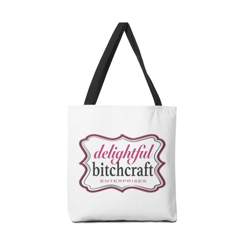 Delightful Bitchcraft Logo Accessories Bag by Delightful Bitchcraft Merch Marketplace