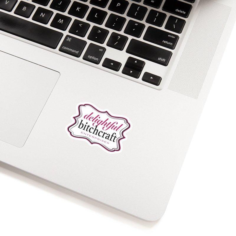 Delightful Bitchcraft Logo Accessories Sticker by Delightful Bitchcraft Merch Marketplace