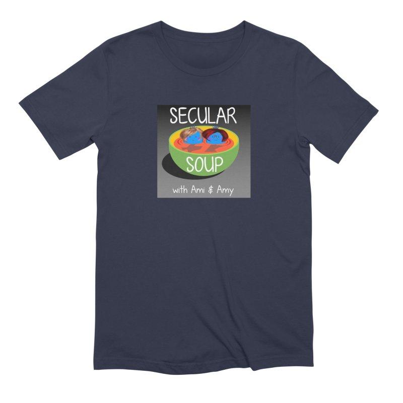 Secular Soup Logo Men's T-Shirt by Delightful Bitchcraft Merch Marketplace