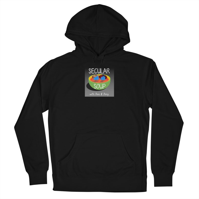 Secular Soup Logo Men's Pullover Hoody by Delightful Bitchcraft Merch Marketplace