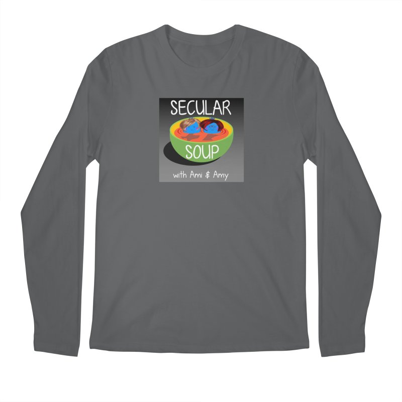 Secular Soup Logo Men's Longsleeve T-Shirt by Delightful Bitchcraft Merch Marketplace