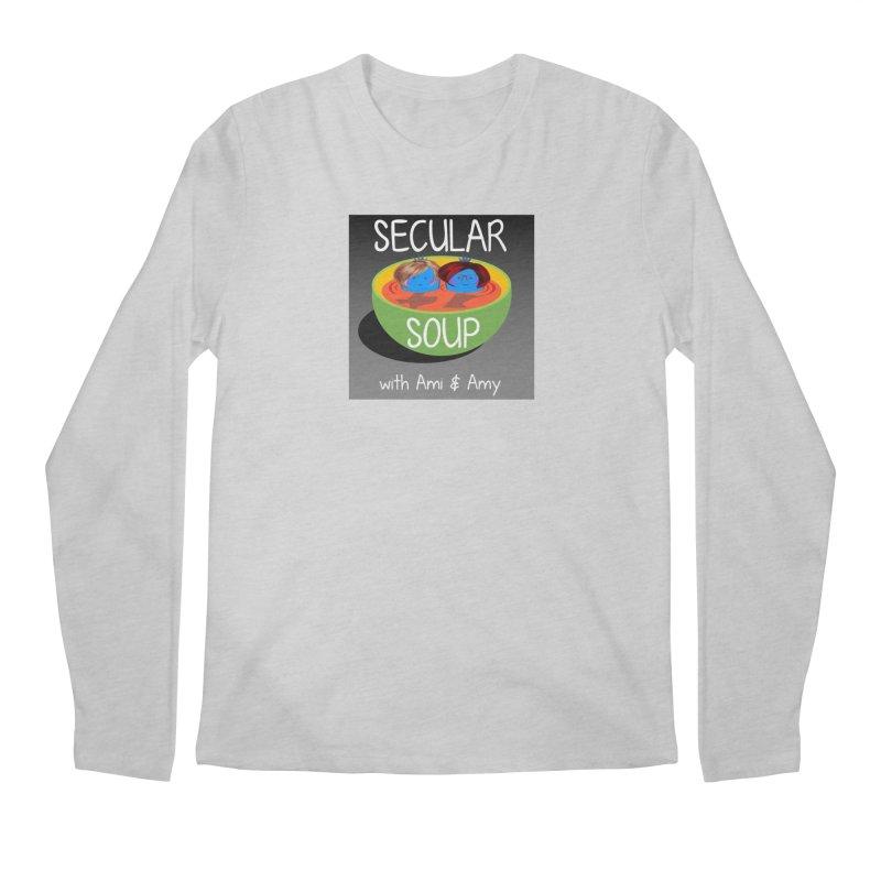 Secular Soup Logo Men's Longsleeve T-Shirt by Delightful Bitchcraft Merch Marketplace