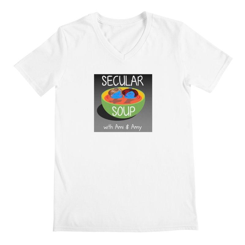 Secular Soup Logo Men's V-Neck by Delightful Bitchcraft Merch Marketplace