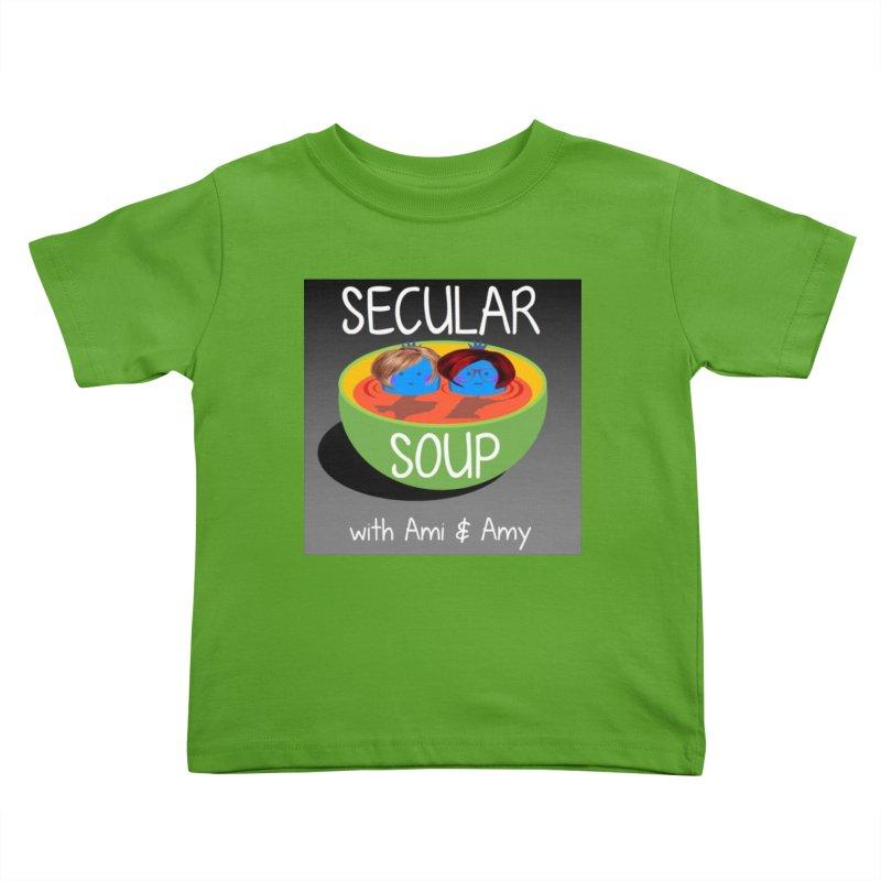 Secular Soup Logo Kids Toddler T-Shirt by Delightful Bitchcraft Merch Marketplace