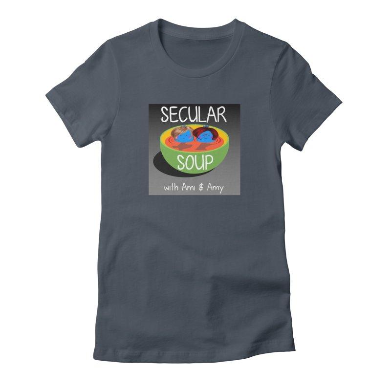 Secular Soup Logo Women's T-Shirt by Delightful Bitchcraft Merch Marketplace