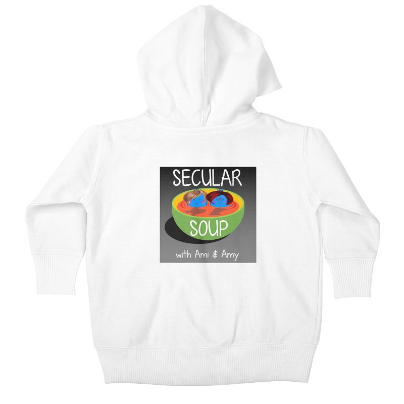 Secular Soup Logo Kids Baby Zip-Up Hoody by Delightful Bitchcraft Merch Marketplace