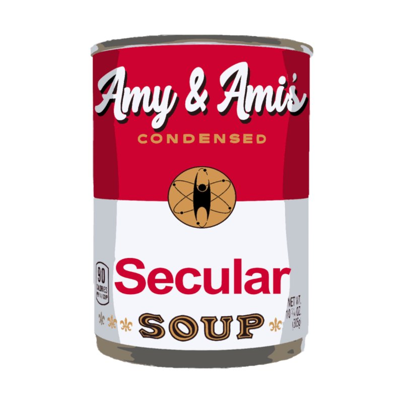 Secular Soup Can Accessories Mug by Delightful Bitchcraft Merch Marketplace