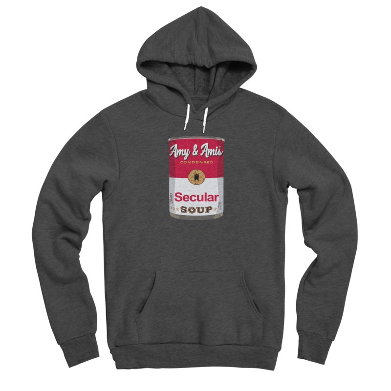 Secular Soup Can Men's Pullover Hoody by Delightful Bitchcraft Merch Marketplace