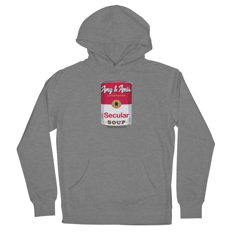 Secular Soup Can Women's Pullover Hoody by Delightful Bitchcraft Merch Marketplace