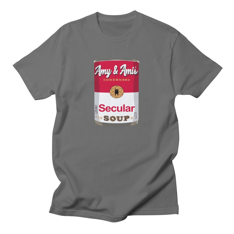 Secular Soup Can Men's T-Shirt by Delightful Bitchcraft Merch Marketplace