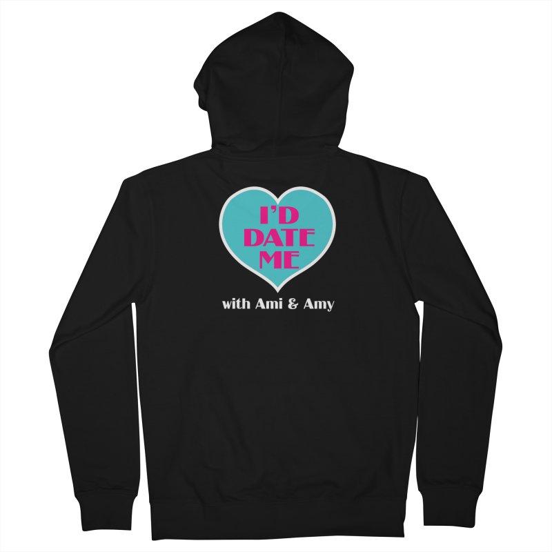 I'd Date Me Logo Men's Zip-Up Hoody by Delightful Bitchcraft Merch Marketplace