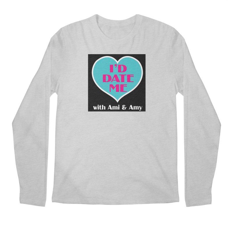 I'd Date Me Logo Men's Longsleeve T-Shirt by Delightful Bitchcraft Merch Marketplace
