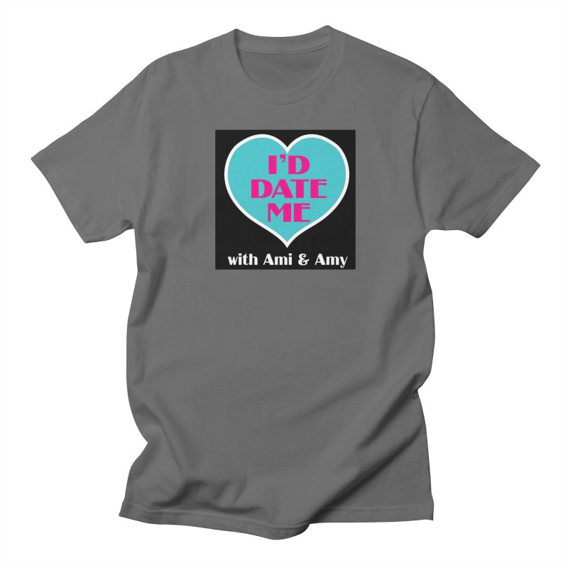 I'd Date Me Logo Men's T-Shirt by Delightful Bitchcraft Merch Marketplace
