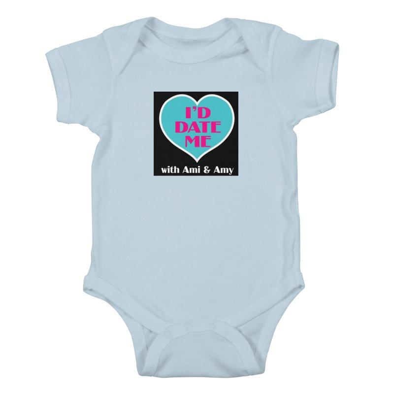 I'd Date Me Logo Kids Baby Bodysuit by Delightful Bitchcraft Merch Marketplace