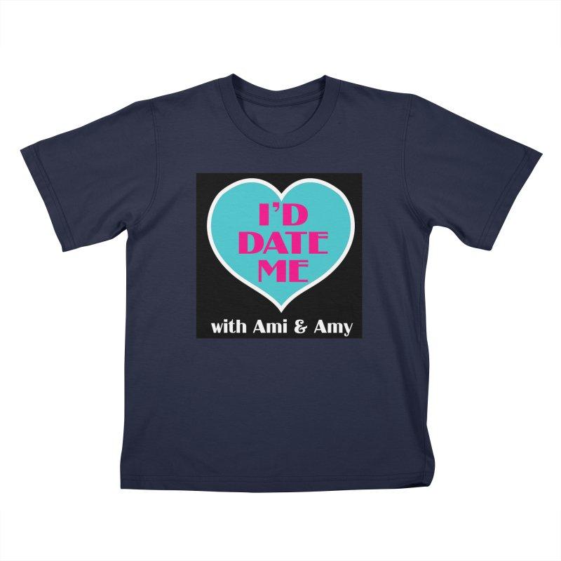 I'd Date Me Logo Kids T-Shirt by Delightful Bitchcraft Merch Marketplace