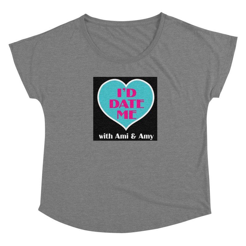 I'd Date Me Logo Women's Scoop Neck by Delightful Bitchcraft Merch Marketplace