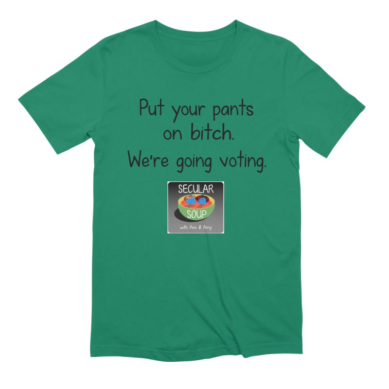 We're Going Voting Men's T-Shirt by Delightful Bitchcraft Merch Marketplace