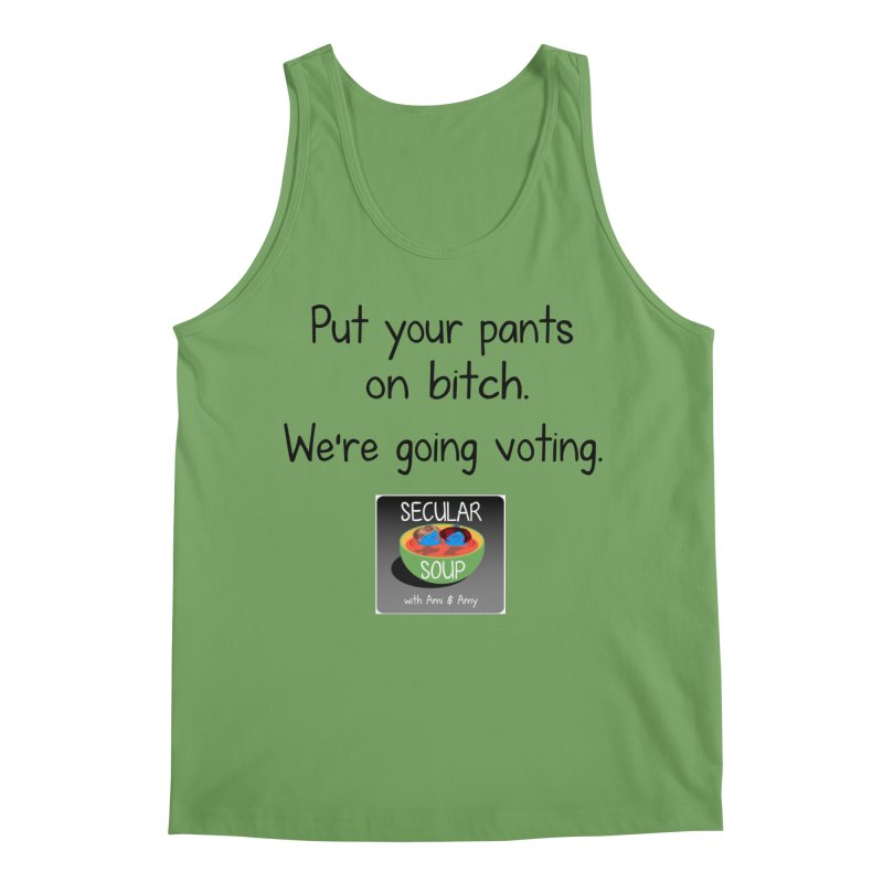 We're Going Voting Men's Tank by Delightful Bitchcraft Merch Marketplace