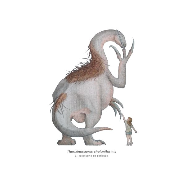 Design for Therizinosaurus