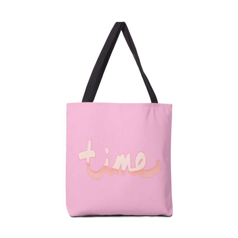 Time is a rose gold illusion Accessories Tote Bag Bag by Demeter Designs Artist Shop