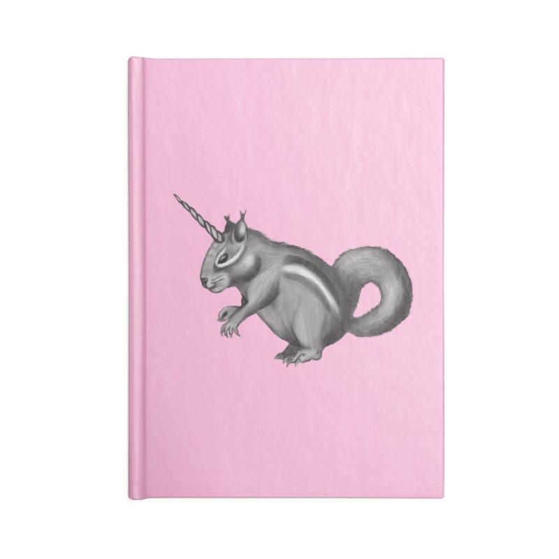 Chipmunkicorn Accessories Blank Journal Notebook by Demeter Designs Artist Shop