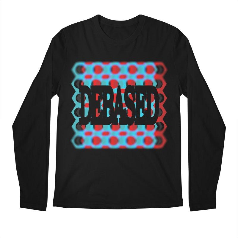 DEBASED Men's Regular Longsleeve T-Shirt by Demeter Designs Artist Shop