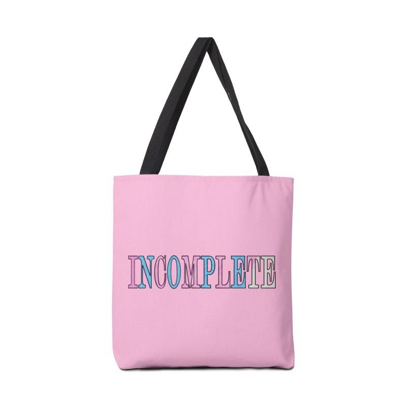 INCOMPLETE Accessories Tote Bag Bag by Demeter Designs Artist Shop