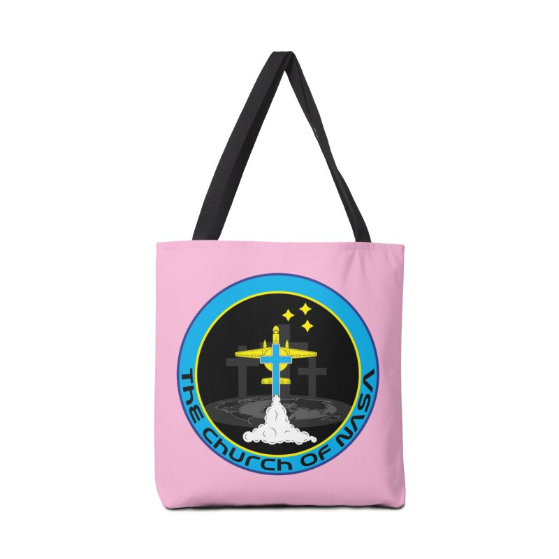 The Church Of NASA Accessories Tote Bag Bag by Demeter Designs Artist Shop