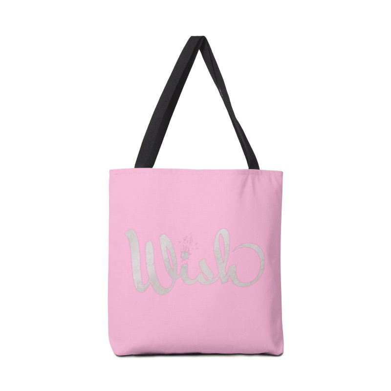 Wishing for Lace Accessories Tote Bag Bag by Demeter Designs Artist Shop