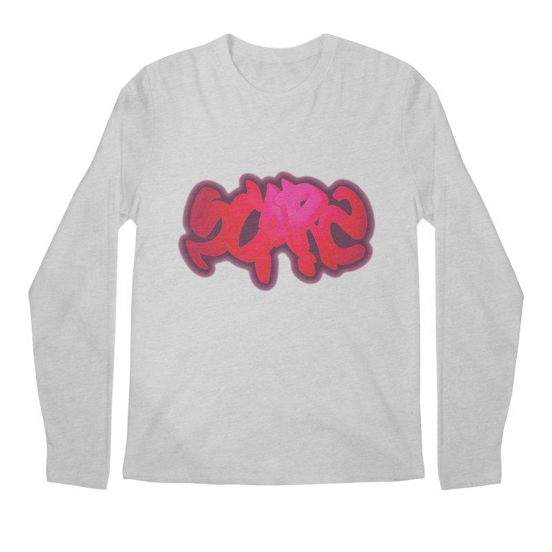 Scars Graffiti Men's Regular Longsleeve T-Shirt by Demeter Designs Artist Shop