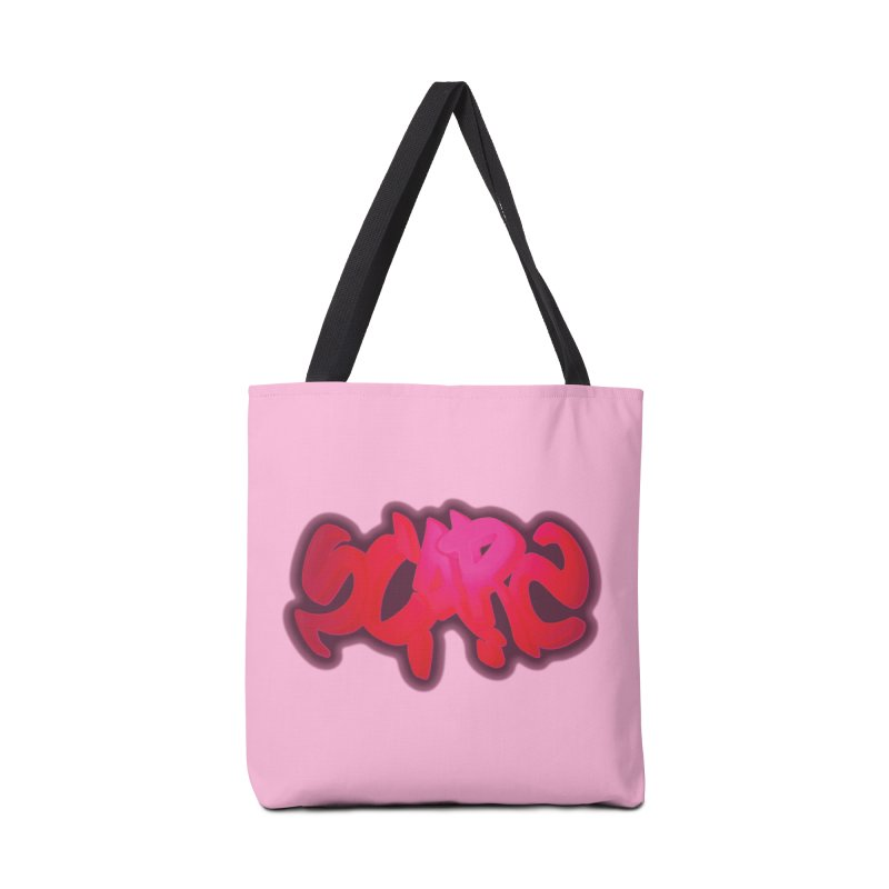 Scars Graffiti Accessories Bag by Demeter Designs Artist Shop